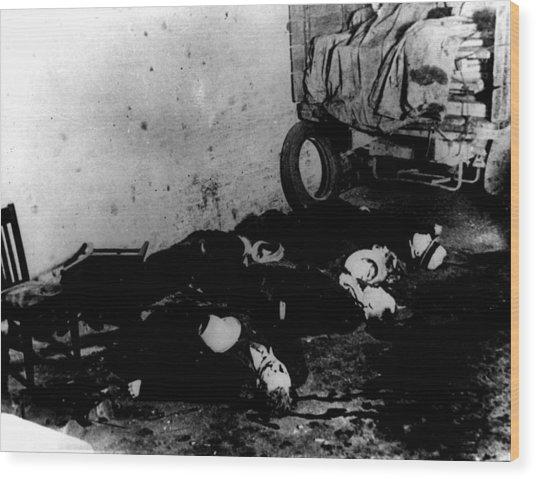 St Valentines Day Massacre Chicago Photograph By Everett