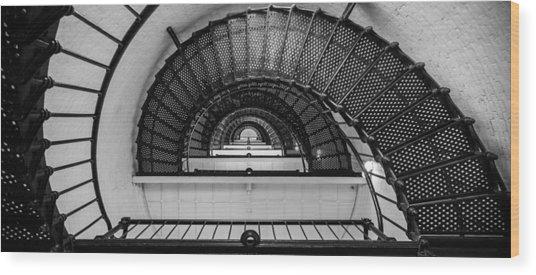 Stair Master Wood Print