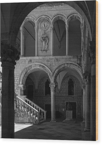 Stairs .... Wood Print