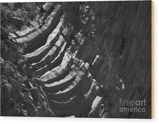 Stairs Of Time Wood Print