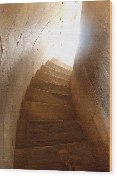 Stairway From Heaven Wood Print
