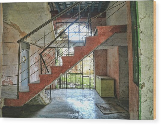Stairway To Havana Wood Print