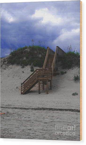 Stairway To Reality Wood Print