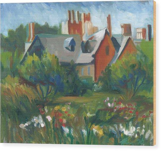 Stan Hywet Hall Wood Print