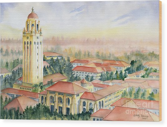 Stanford University California Wood Print