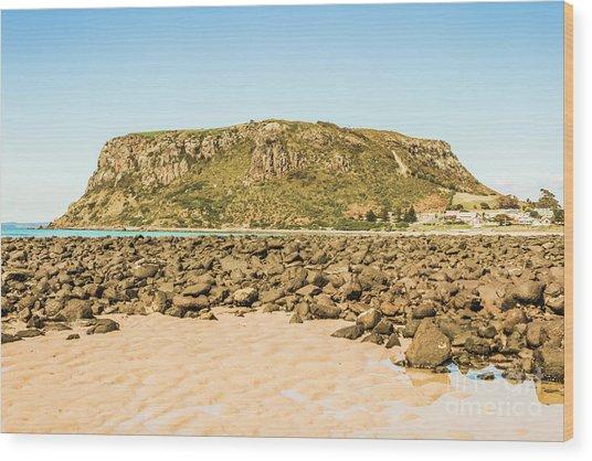 Stanley Seascape Wood Print