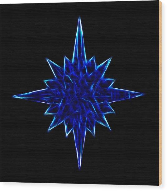 Star Light Wood Print
