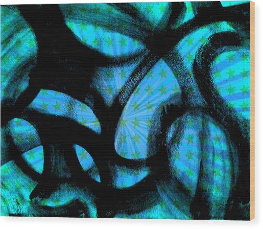 Star Soul Wood Print