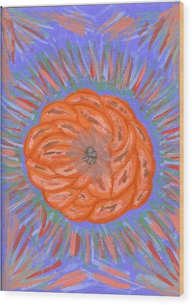 Starburst Wood Print by Laura Lillo