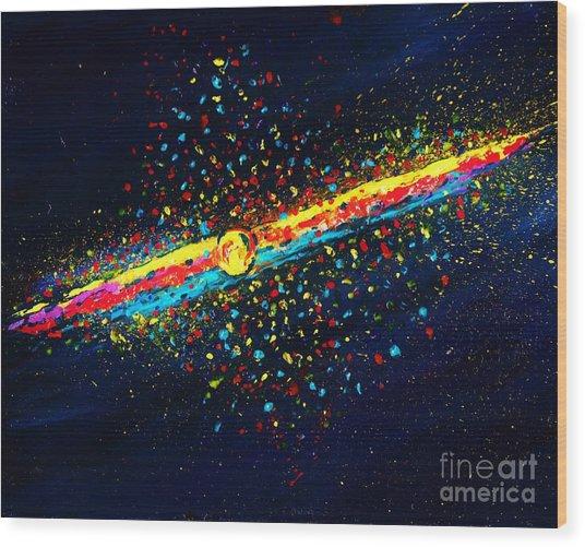 Stardust  Wood Print