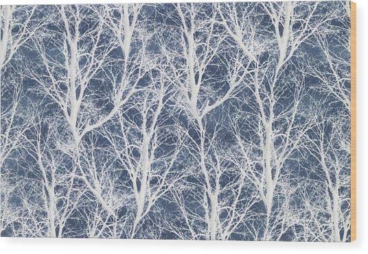 Starlight Christmas IIi Wood Print