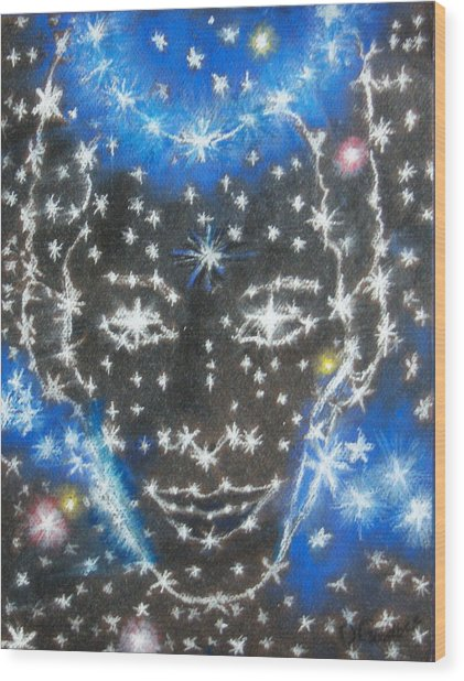Starry Eyed 2 Wood Print