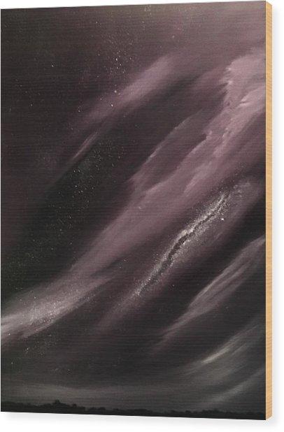 Starry Night 3 Wood Print