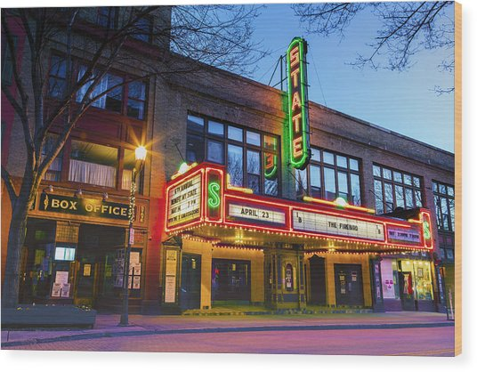 State Theatre - Ithaca Ny Wood Print