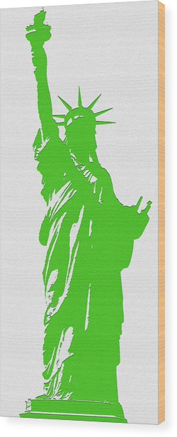 Statue Of Liberty No. 9-1 Wood Print