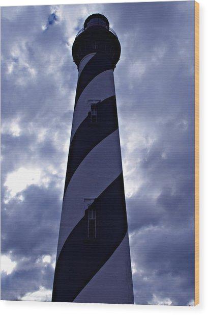 St.augustine Light House Wood Print