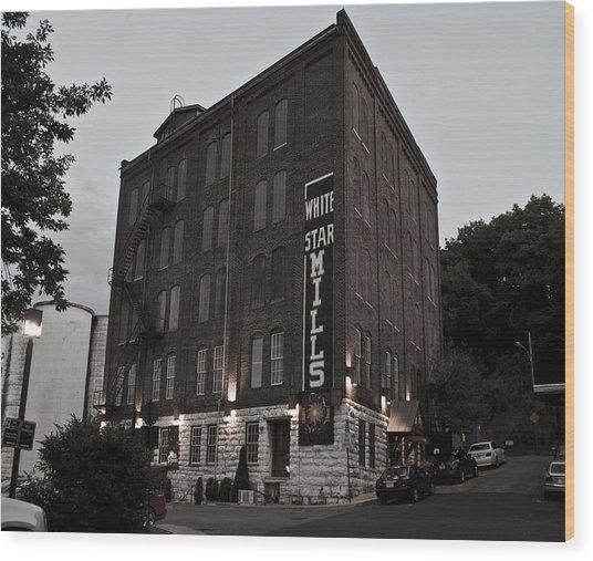 Staunton Mill Street Bar And Grill Wood Print
