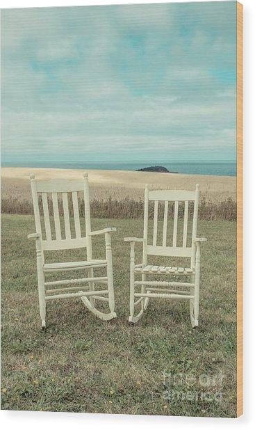Stay Awhile Prince Edward Island Wood Print