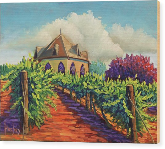 Ste Chappelle Winery Wood Print