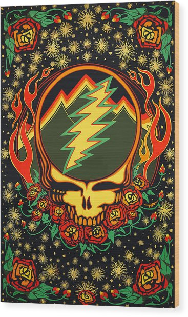 Steal Your Face Special Edition Wood Print