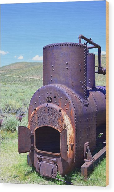 Steam Generator Wood Print