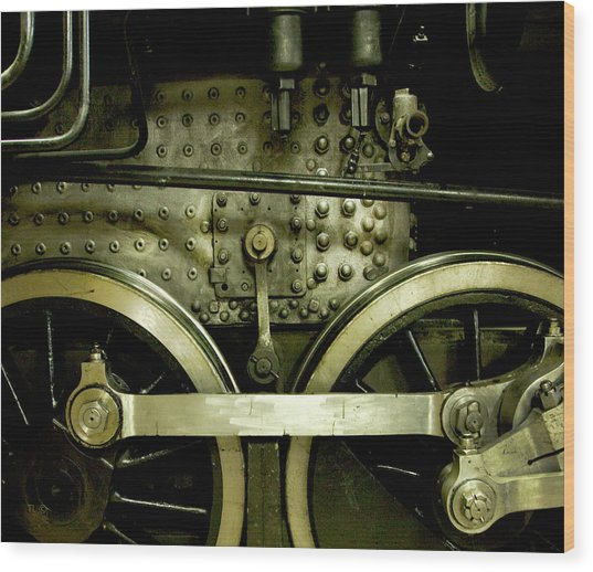 Steam Power I Wood Print