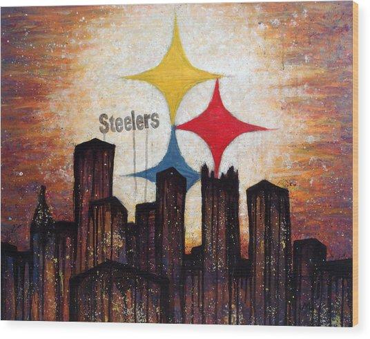Steelers. Wood Print