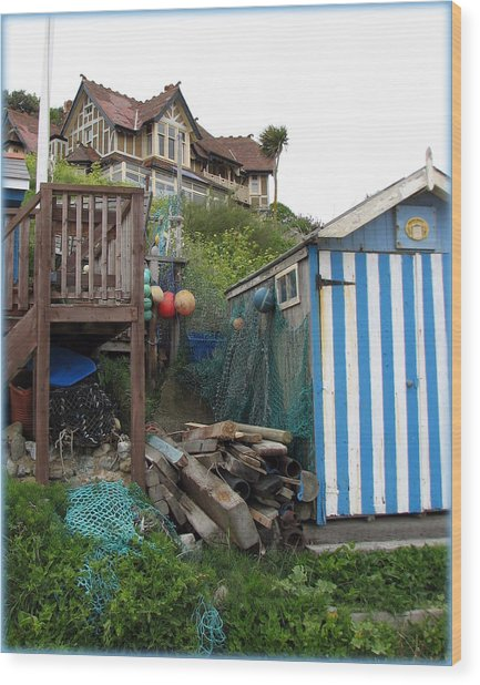 Steephill Cove Wood Print