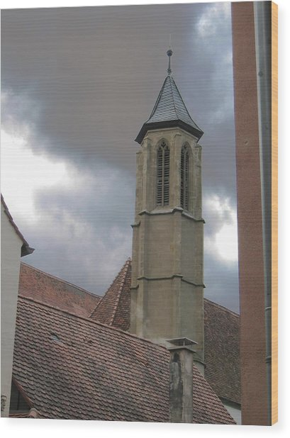 Wood Print featuring the photograph Steeple by Dylan Punke