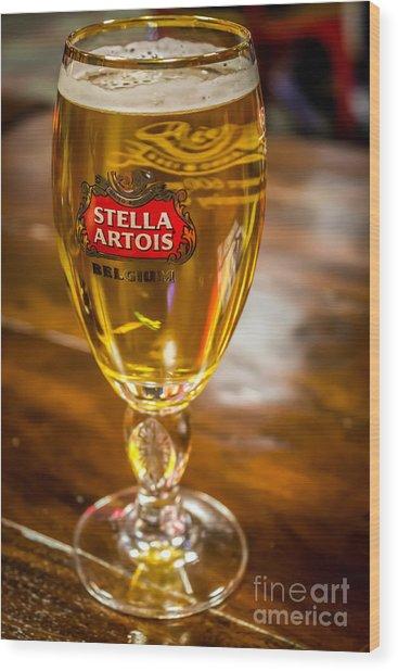 Stella Artois  Wood Print