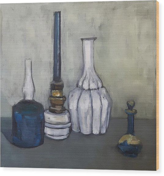 Still After G. Morandi Wood Print