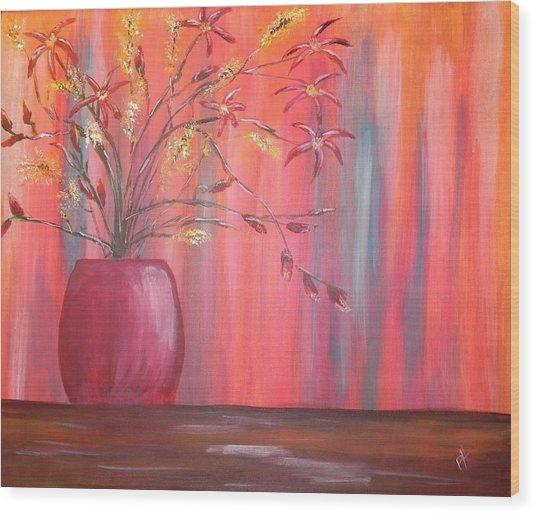Still Colors Wood Print by Patti Spires Hamilton