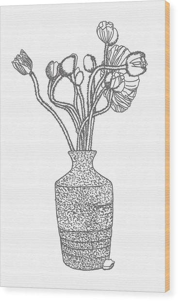 Still Life #3 Wood Print