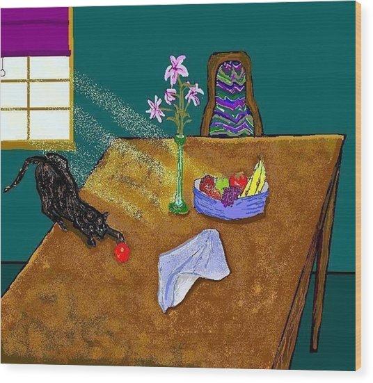 Still Life Wood Print by Carole Boyd