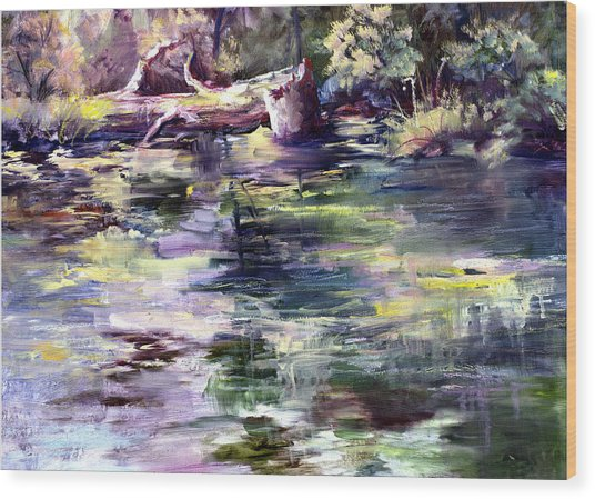 Stillwater Wood Print