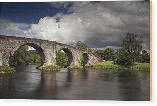 Stirling Bridge Wood Print