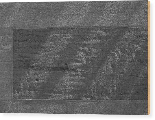Stone And Light Wood Print by Robert Ullmann