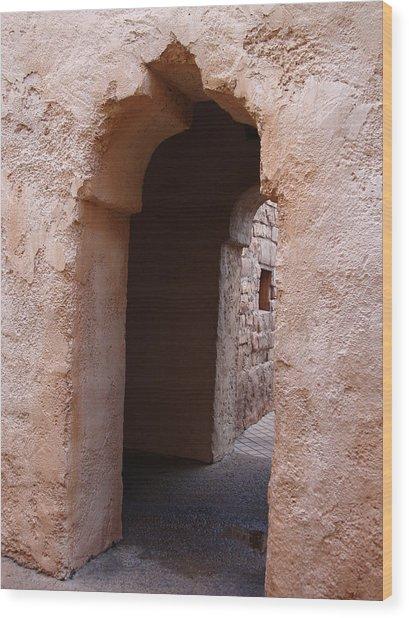 Stone Arches Wood Print by Kim Chernecky