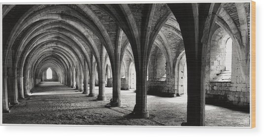 Stone Arches Wood Print by Michael Hudson