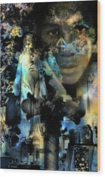 Stone Crosses And Death Angels - Trayvon Martin Wood Print