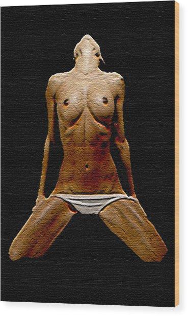 Stoned 3 Wood Print