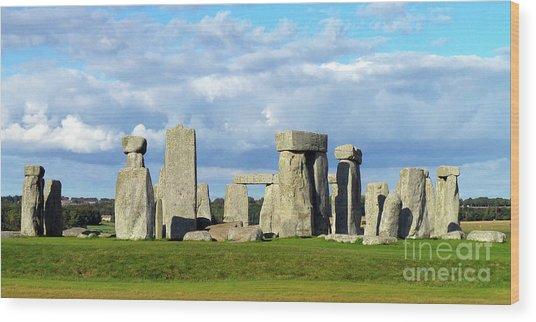 Stonehenge 6 Wood Print