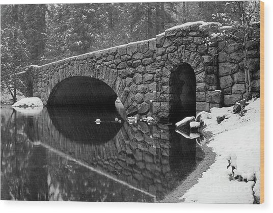Stoneman Bridge Wood Print