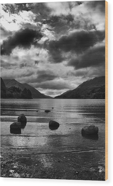 Wood Print featuring the photograph Stones by Adrian Pym