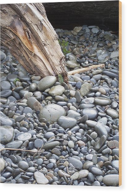 Stones Wood Print