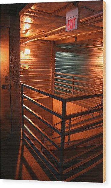 Storage 12 Wood Print