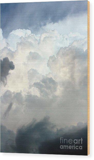 Storm Clouds 1 Wood Print