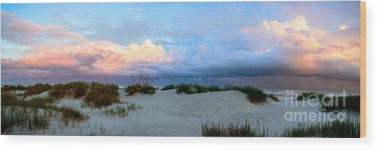 Storm Of Pastels Wood Print
