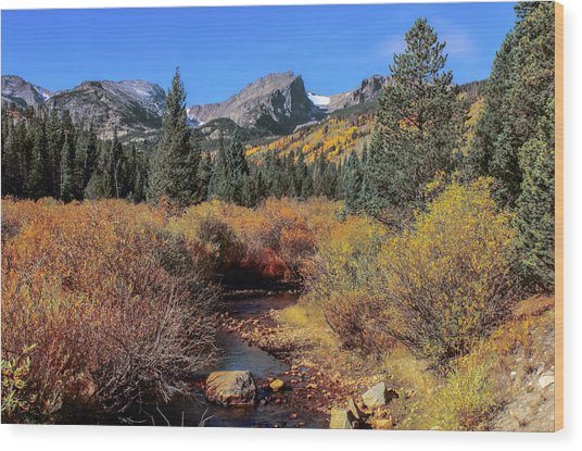 Storm Pass Trail Wood Print