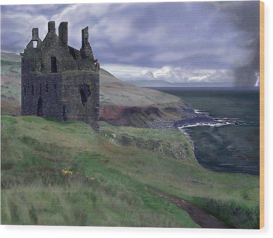 Stormbringer Wood Print